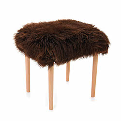 Seren Baa Beauty Stool - Chocolate