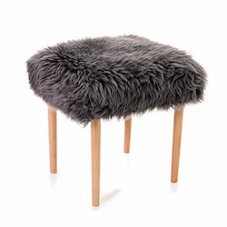 Seren Baa Beauty Stool - Slate Grey