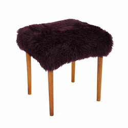 Swyn Baa Beauty Stool - Aubergine