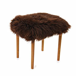 Swyn Baa Beauty Stool - Chocolate