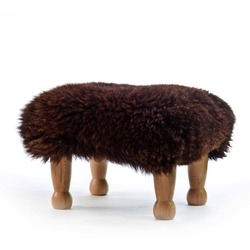 Chunky Baa Stool - Chocolate