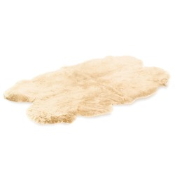 Quad Sheepskin cream Rug
