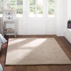 Tuscany Plains Wool Rug - Sienna Natural