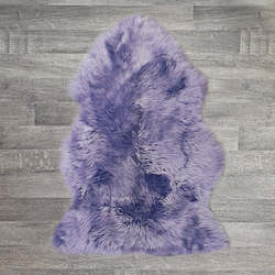 Single British Sheepskin - Lilac - Large