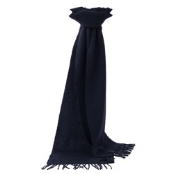 Chatsworth Baby Alpaca Scarf Black