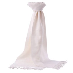 Chatsworth Baby Alpaca Scarf Cream
