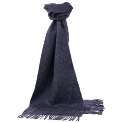 Chatsworth Baby Alpaca Scarf Dark Grey