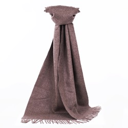 Chatsworth Baby Alpaca Scarf Mocha