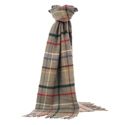 Lambswool Litton Windowpane Lovat Scarf