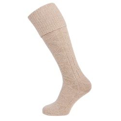 Womens Casual Knee High Sock Brown UK 4-7