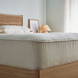 US Size Deluxe Wool Mattress Topper