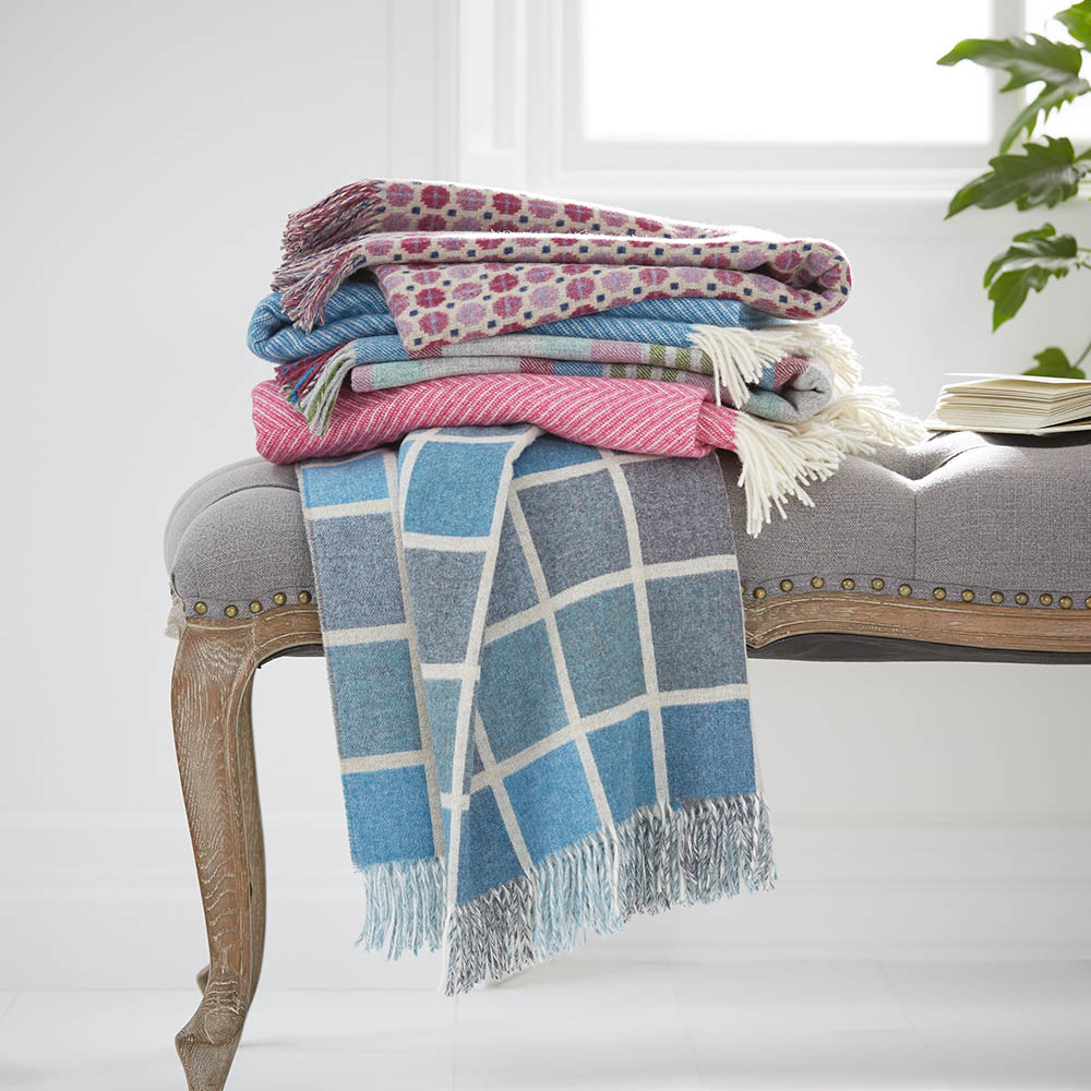 Wool Blankets <br> and Throws